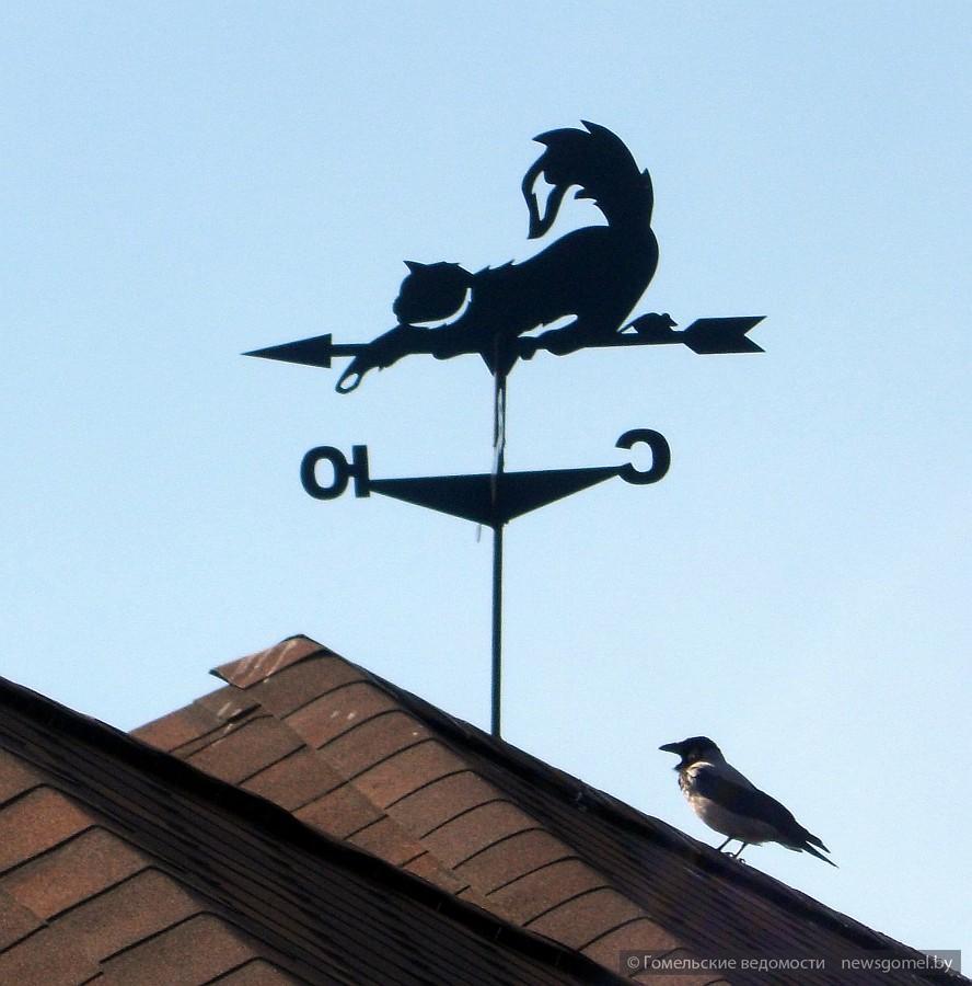 Флюгеры на крышу фото