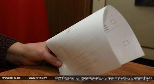 В республики Белоруссии начались выборы внижнюю палату парламента