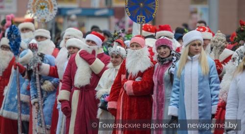 ВЭнгельсе из-за шествия Дедов Морозов будет введено ограничение движения