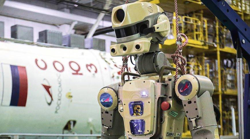 Робот «Федор» удачно вернулся наЗемлю
