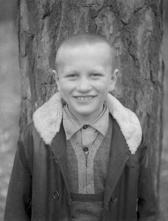 Племянник Костя. Гомель. 1937 год. Архив Александра Артвея (Филадельфия. США)